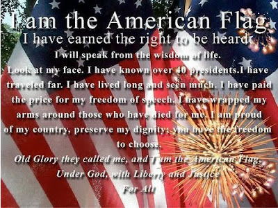 Happy Flag Day Quotes 2016: i am the american flag, i have earned the right to be heard
