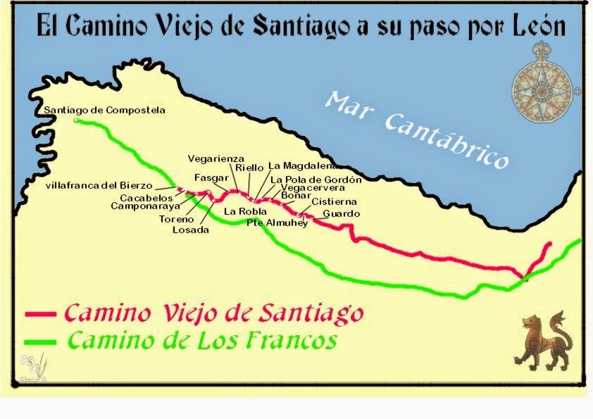 Mapa Pabellones Hospital De Navarra.El Camino Viejo Desde Navarra