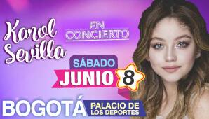 Concierto de KAROL SEVILLA en Bogotá 2019