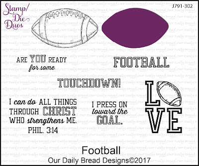 Stamp/Die Duos: Football