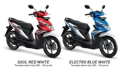 Spesifikasi Honda Beat Esp CBS ISS