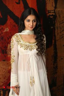 Telugu Actress Mahima Makwana Stills in White Desginer Dress at Venkatapuram Movie Logo Launch  0101.JPG