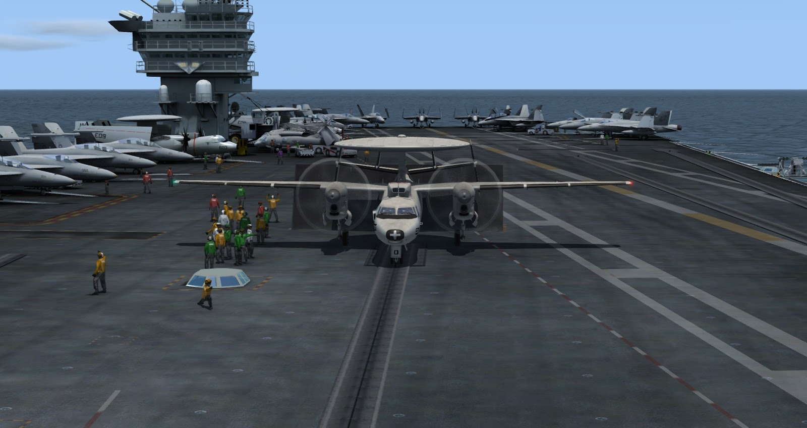 IndiaFoxtEcho Visual Simulations: E-2/C-2 Beta 2 (Release Candidate