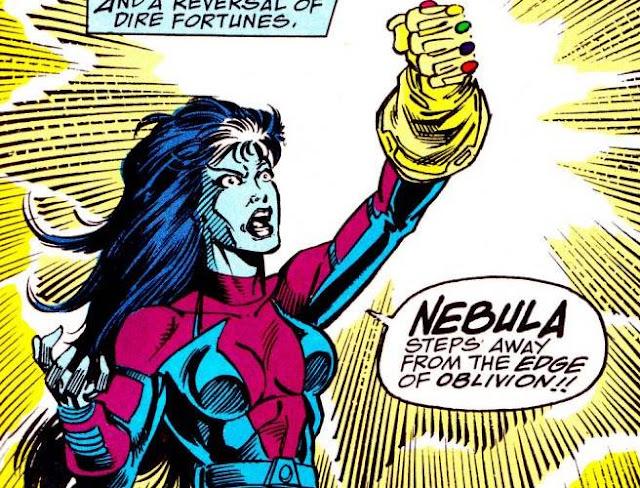 nebula with infinity gauntlet