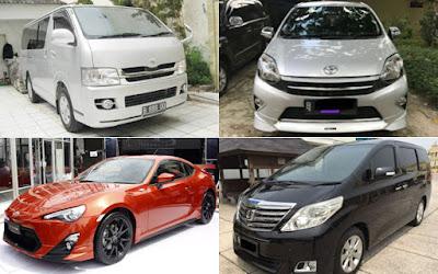 Daftar Harga Mobil Bekas Toyota