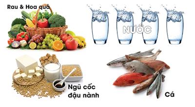 Những thực phẩm người bị rối loạn tiền đình nên ăn
