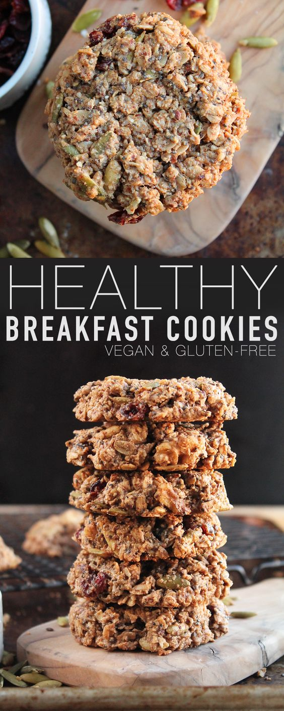 Low carb,Gluten-Free Vegan Breakfast Cookies