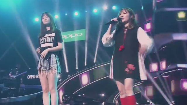 chicas sorprenden cantar metal programa talentos china kawaii