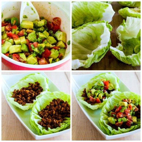 Kalyn's Kitchen®: Spicy Tofu Lettuce Wrap Tacos