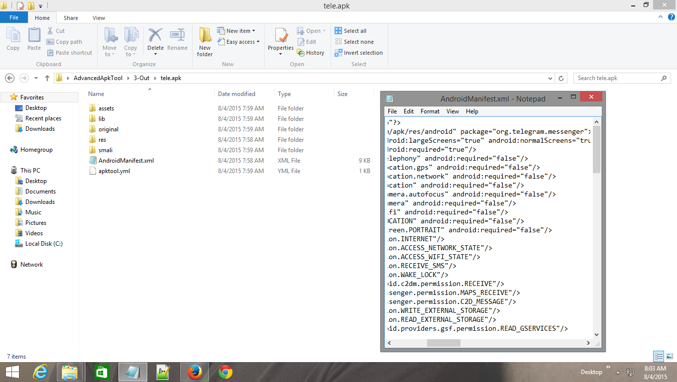 how to hack java codes and xml codes of an android apk - My PC Ethics