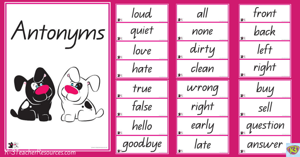 Worksheets Examples Of Antonyms explanation about antonym synonym and hyponym simanjuntaks blog hyponym