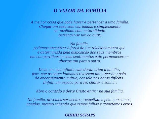 Mensagem De Proteção A Familia Ud95: Mensagens Para Seu Dia GIHHH SCRAPS: Mensagens De Família