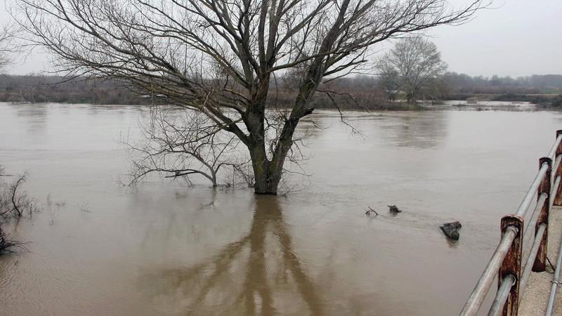 Σε κατάσταση συναγερμού ο Νομός Έβρου για τον κίνδυνο πλημμυρών