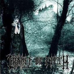 Portada del disco de Cradle of filth 'Dusk and her embrace'