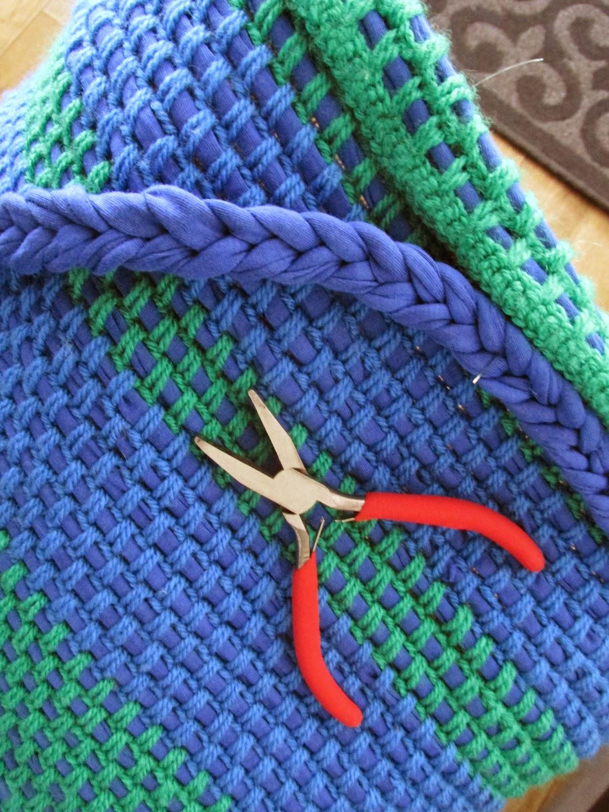 Sandras Eigenhandigheidje Blauw Met Groen Is Boerenfatsoen