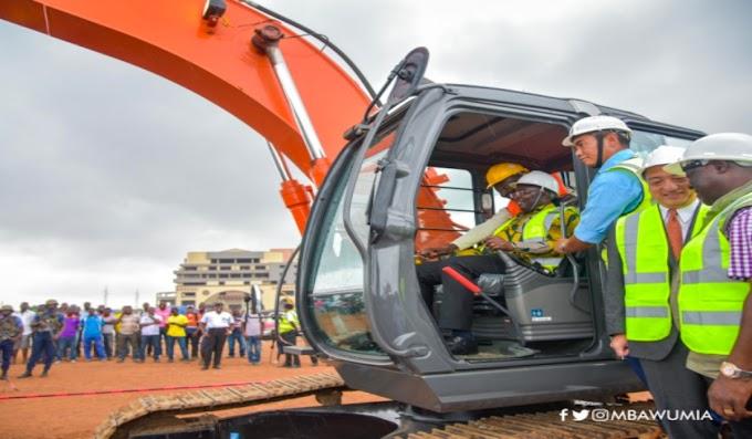 Work Begins On Tema Motorway Grade Separation Project