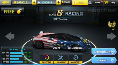 City Racing 3D mod money