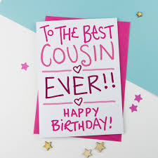 birthday wishes for cousin women