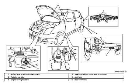Repair Manuals Suzuki Swift 2004 2008 Repair Manual