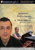 Predrag Katanić i Milena Rajković koncert Bol slike otok Brač Online
