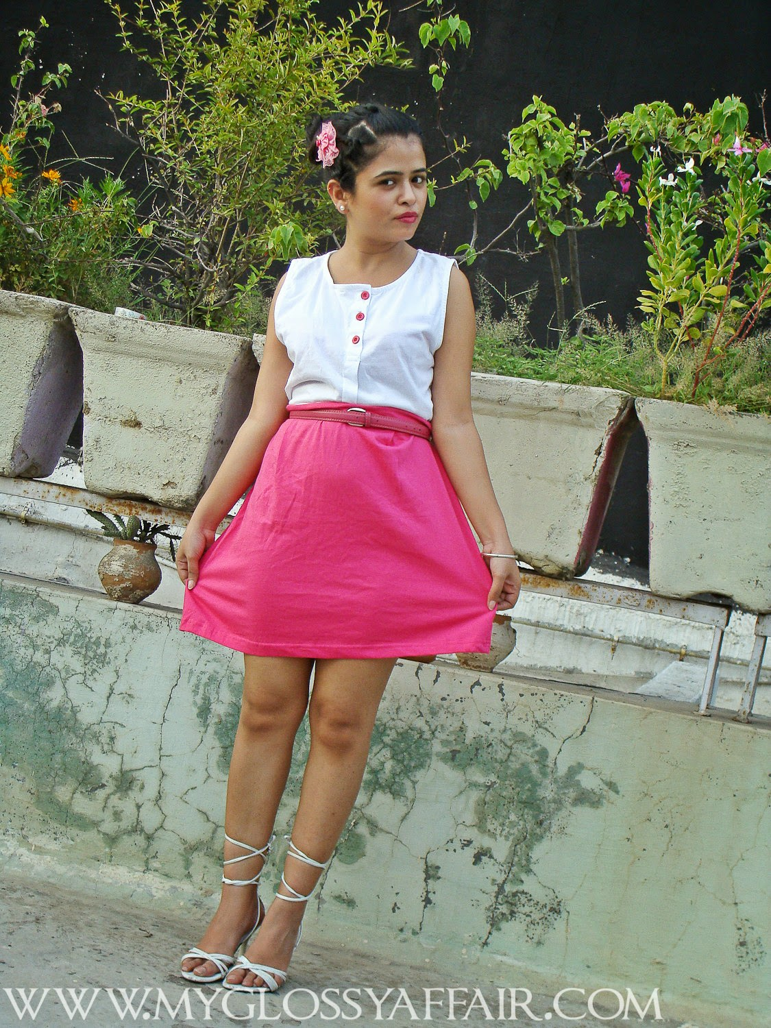 Bubblegum Pink Outfit Post