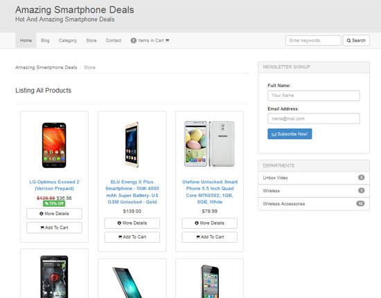 Kedai Online Jana Income USD menerusi Nichify