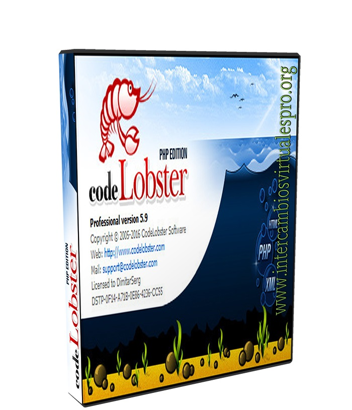 CodeLobster PHP Edition Pro 5.10.2 poster box cover