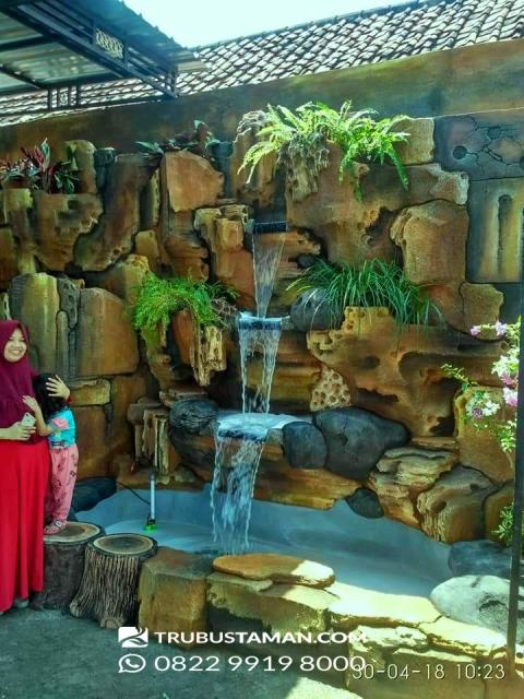Tukang Taman Jakarta - taman relief dekorasi air mancur