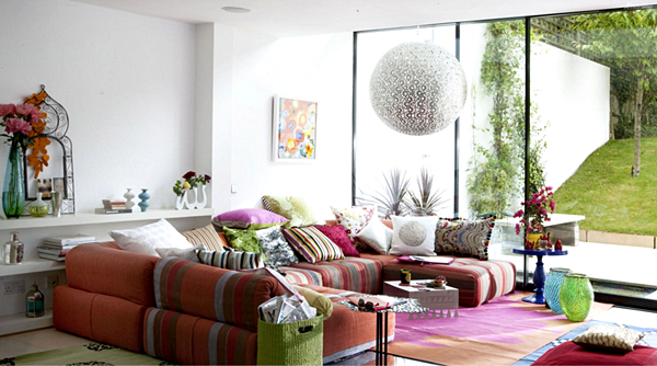 Model Kursi Sofa Minimalis Terbaru Untuk Santai di Ruang Keluarga - Model Sofa Minimalis Nyaman Bermotif Warna-Warna Pastel
