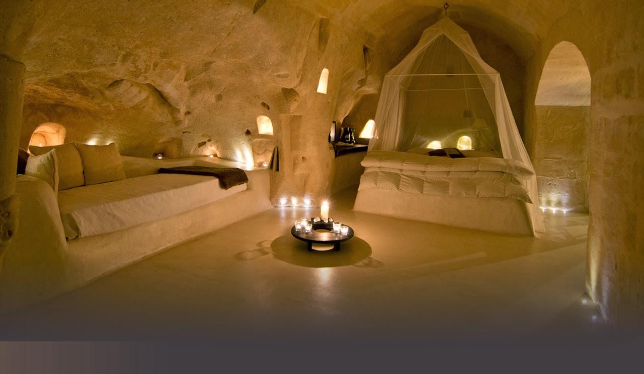 Cave Hotel Tantio Le Grotte Della Civita Matera Italy Again