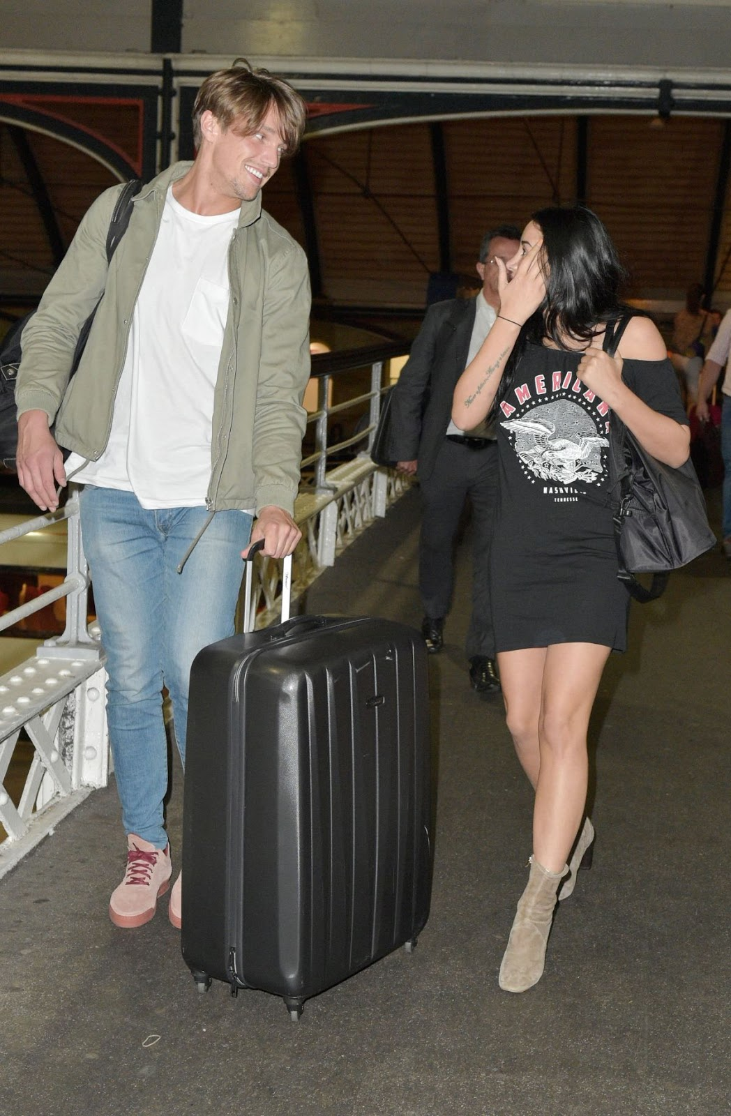 Marnie Simpson Arrives In Newcastle