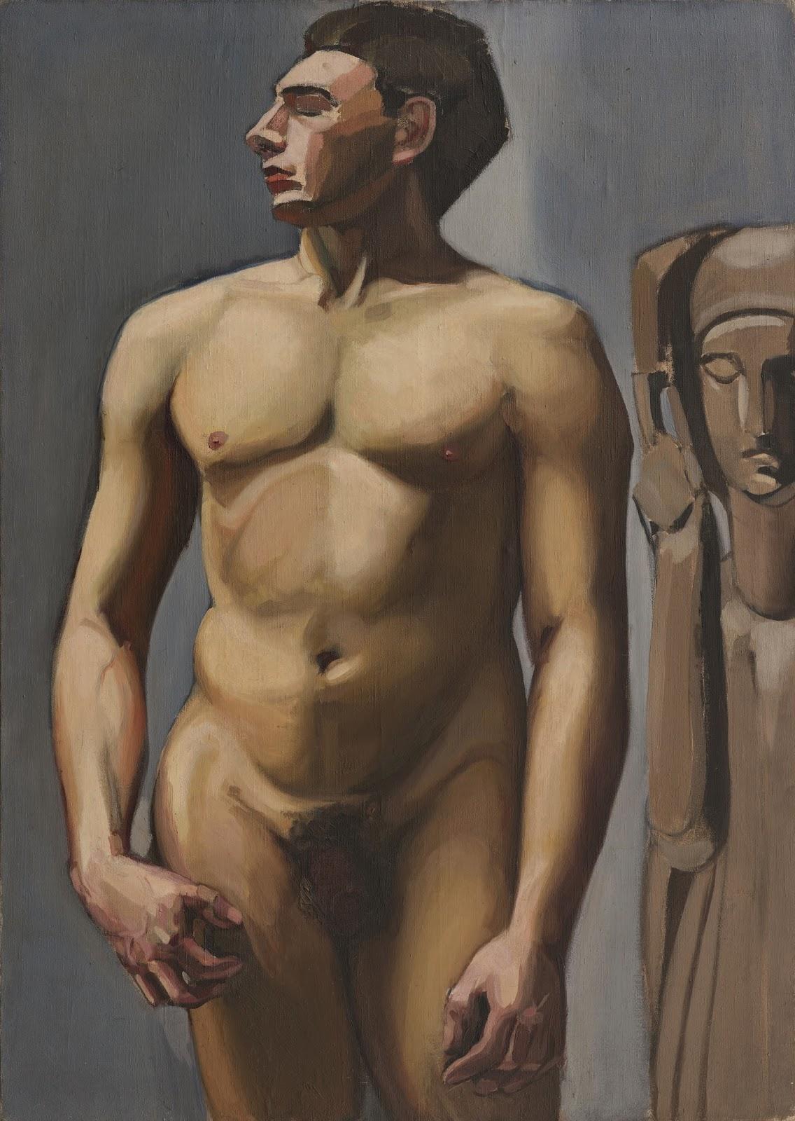 Tamara  de  Lempicka C  Nu  masculin C