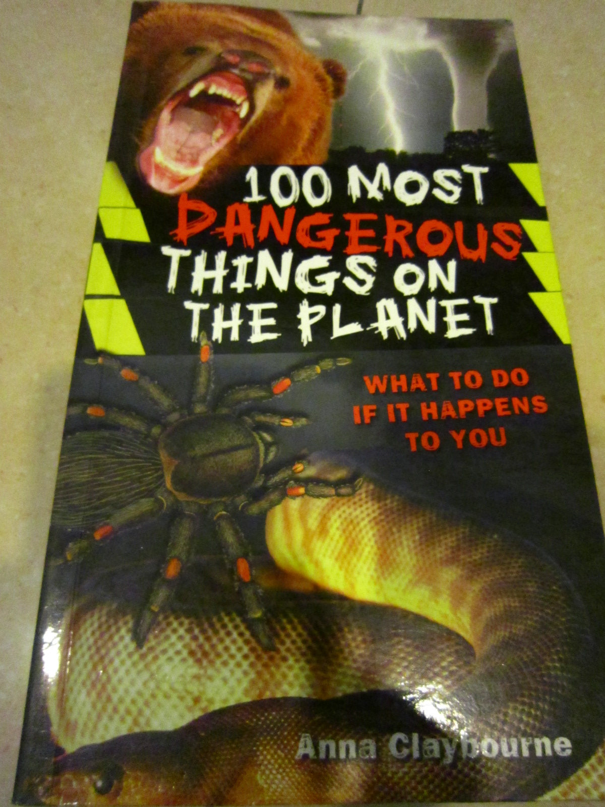 ES14 - 100 Most Dangerous Things on the Planet RM15 (Original price US$7.99)