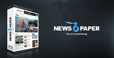 Free Download Newspaper v6.3.2 Responsive WP News/Magazine wordpress Theme