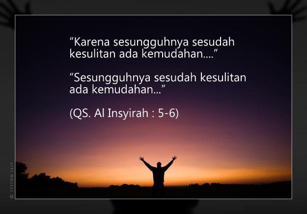 Kesakitan Hidup ini Telah Allah Rancang, Sebab Setelah itu, Allah Siapkan Kebahagian yang Tiada Henti