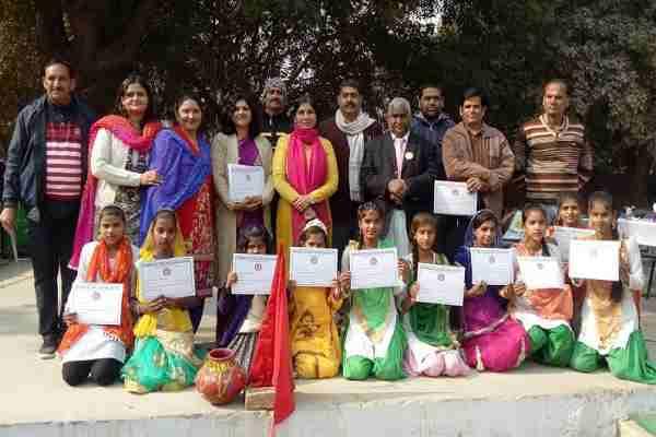 uncha-gaon-sarkari-school-faridabad-kaushal-vikas-camp-end-news