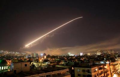 الضربات الجوية على سوريا
