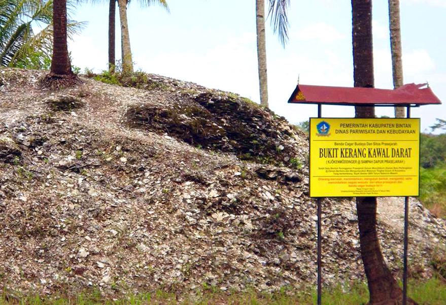Gambar Bukit Kerang Di Kepulauan Riau