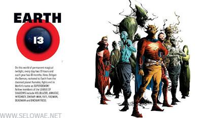earth 13 daftar bumi dc