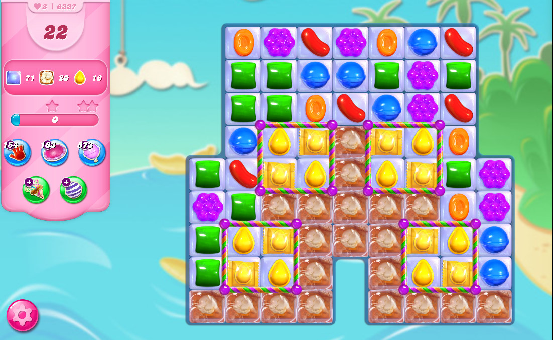 Candy Crush Saga level 6227