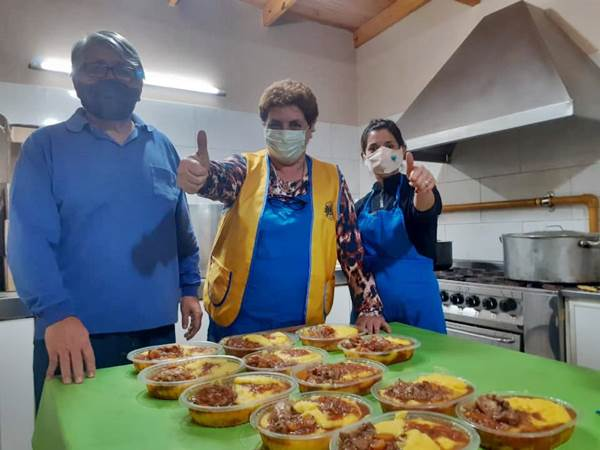 Nueva colecta solidaria de alimentos para personas en situación de calle de Roca