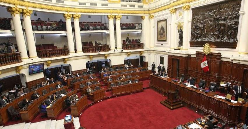 Congreso oficializa ampliación de legislatura hasta el 30 de enero de 2019 (DECRETO DE PRESIDENCIA 001-2018-2019-P/CR)