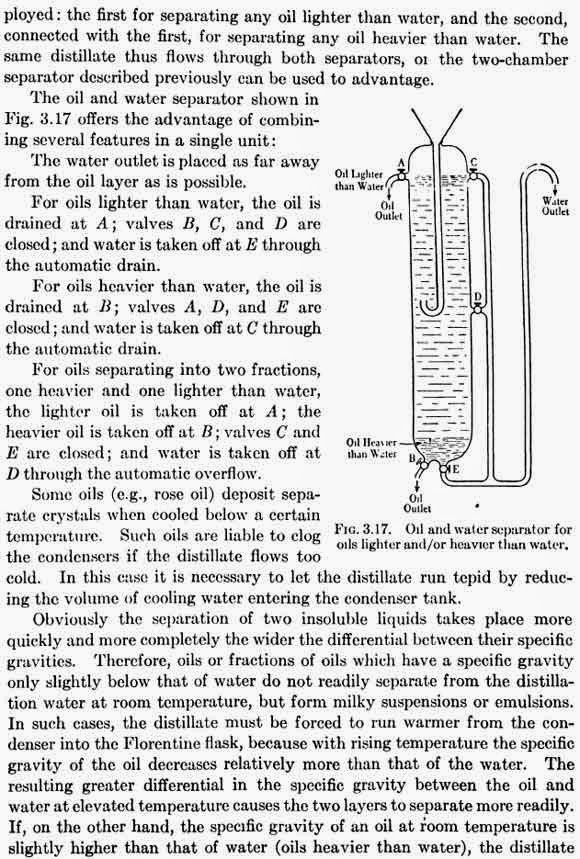 Oil and water separator for oils lighter and/or heavier than water