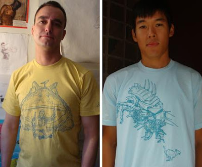 Geof Darrow Signature Series T-Shirts by Epic Proportions – Shaolin Cowboy & Robo Bug T-Shirts
