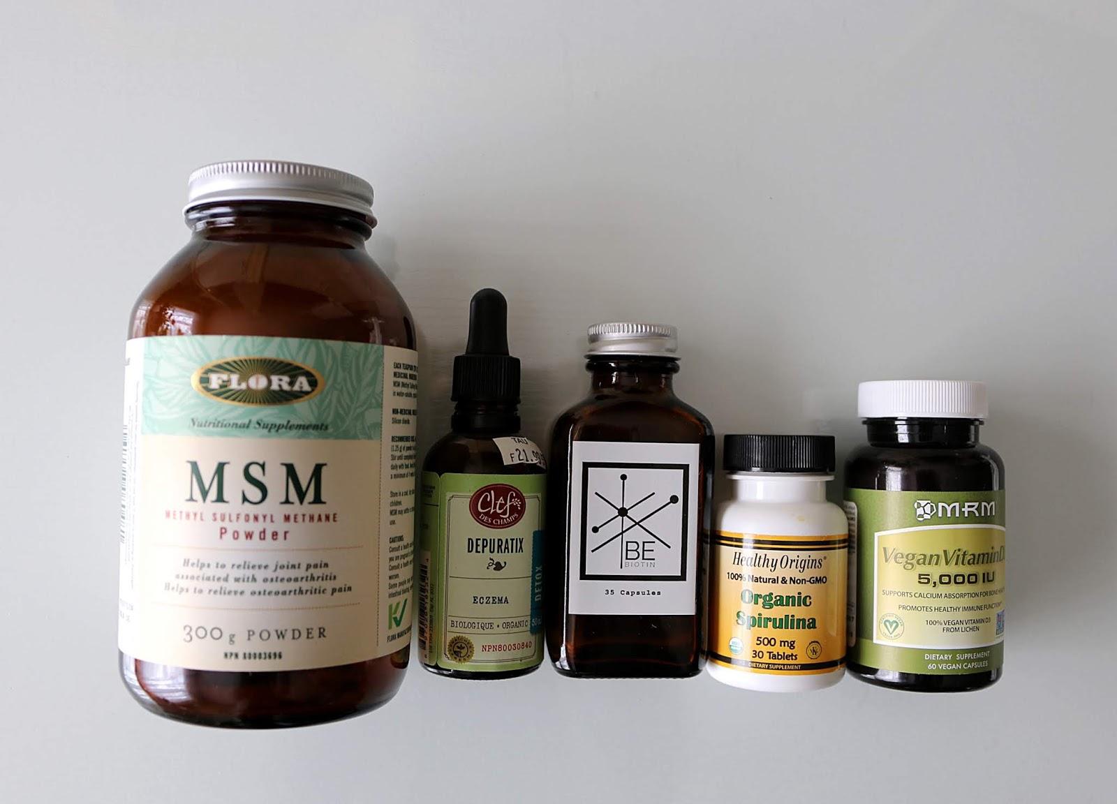 vegan supplements empties flora be biotin healthy origins clef des champs mrm