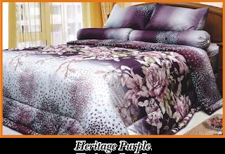 Sprei & BedCover Impression - Heritage Purple