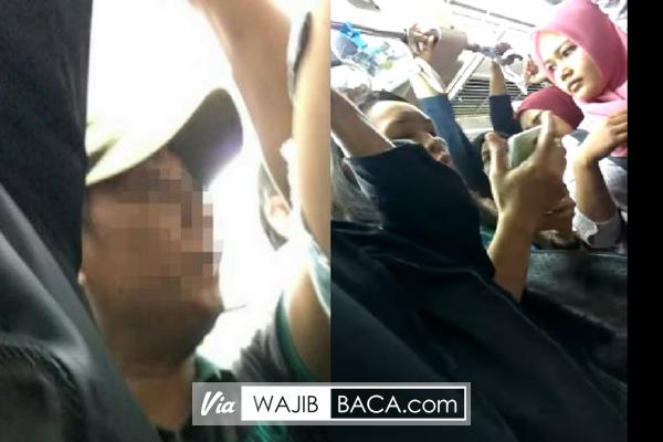 Tercyduk Pelaku Pelecehan di KRL, Tak Tanggung-Tanggung Melakukan Hal Bejat ini