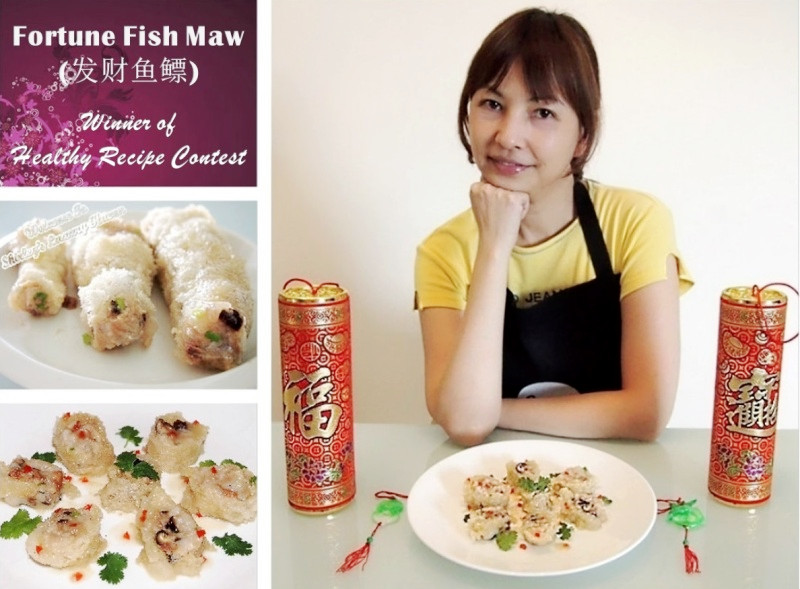 singhealth healthy recipe contest delicious steamed fish maw