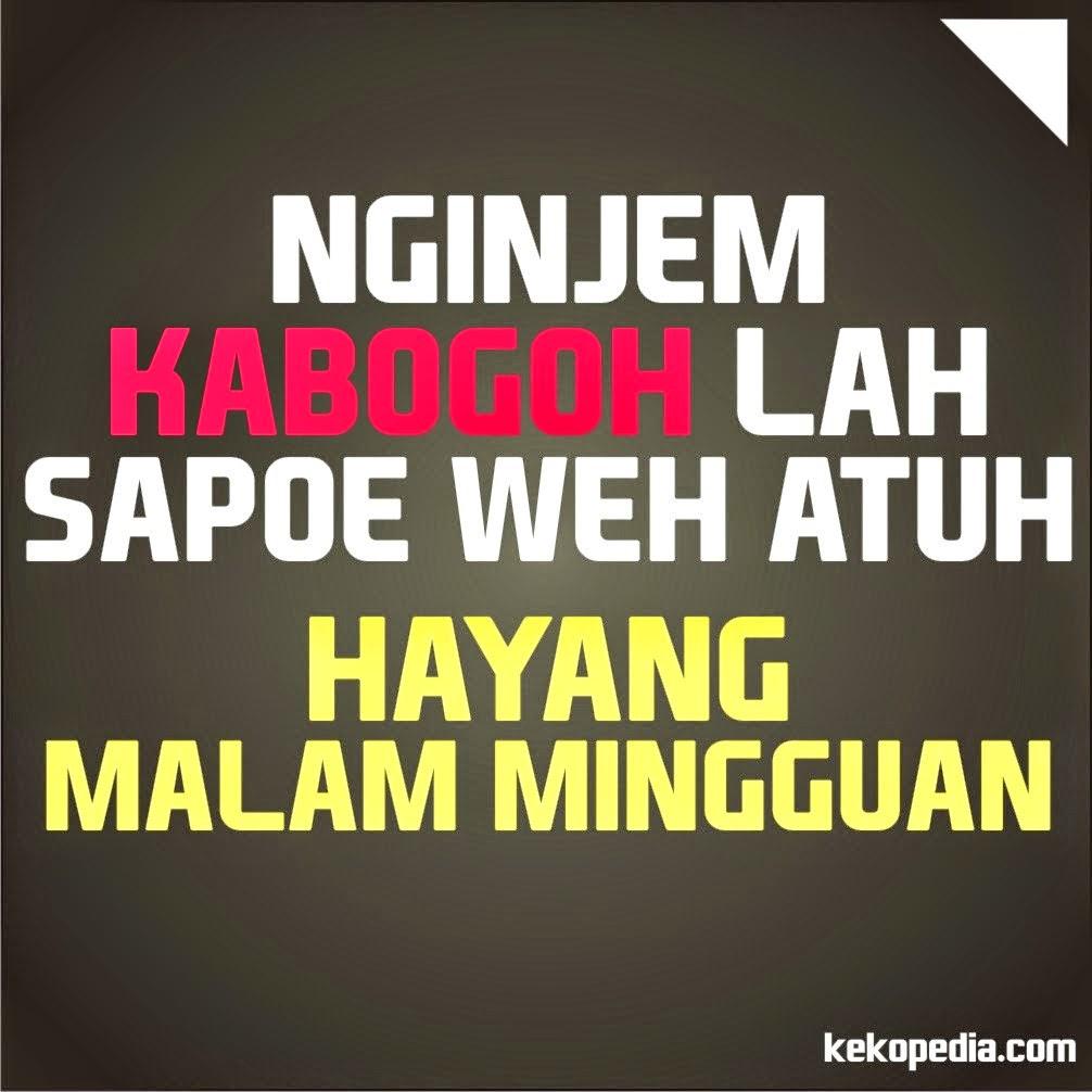 Dp Bbm Lucu Bahasa Sunda Terbaru  Dp Bbm