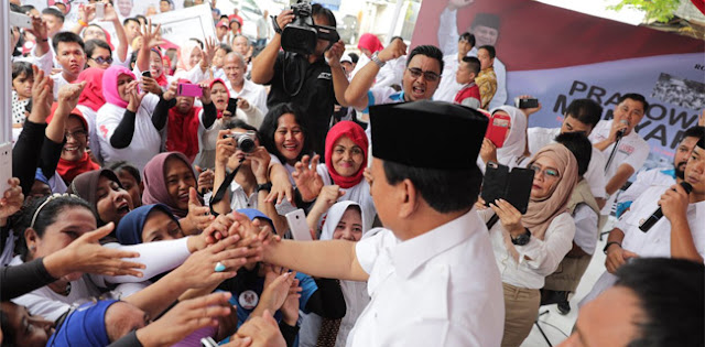 Prabowo: Kalau Ulama dan Emak-emak Sepakat, Insyaallah Menang
